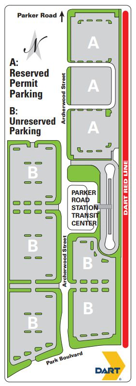 parker-road parking diagram