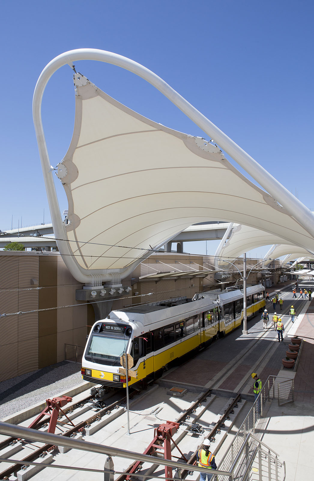 Dart To Dfw >> DART begins light rail train testing to DFW Airport Station | DART Daily