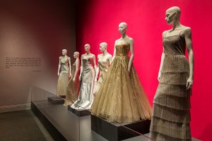 First Ladies gowns from the  Oscar de la Renta: Five Decades of Style Exhibit