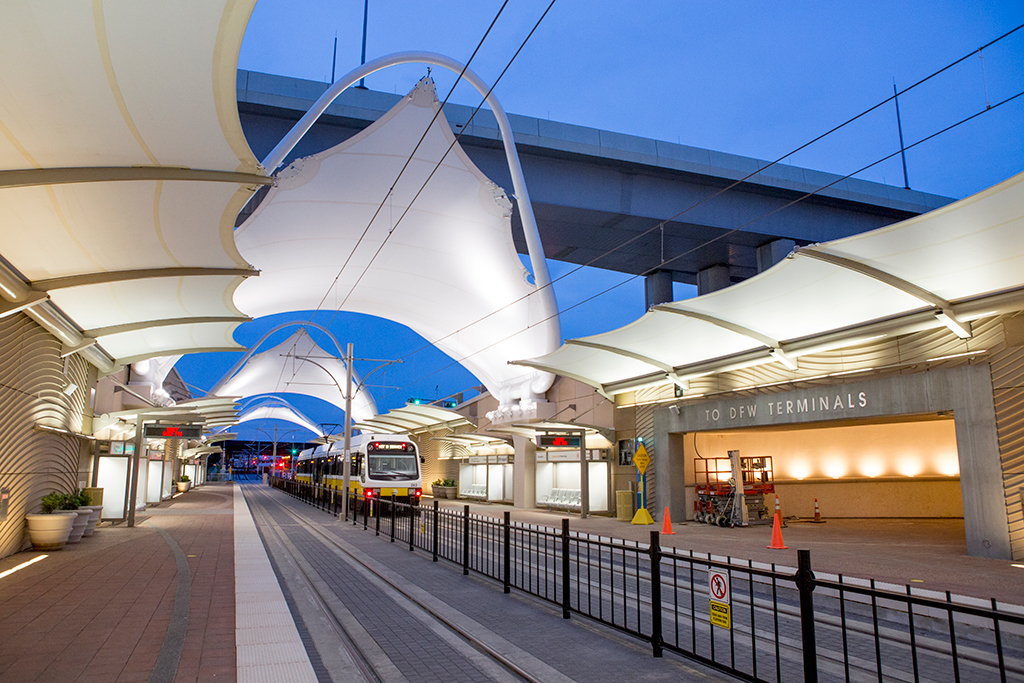 Dart To Dfw Station Design Reflects Airport Renovations