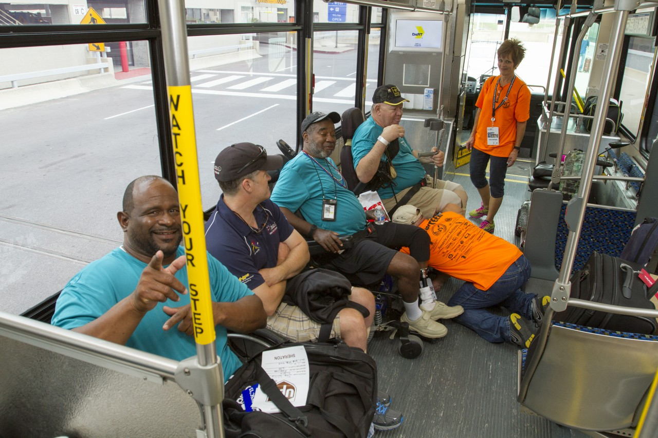 photos national veterans wheelchair games rolls into dallas dart