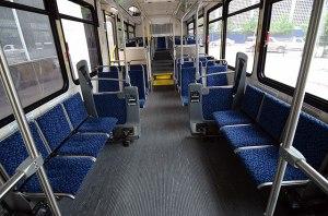 The standard 40-foot NABI bus.