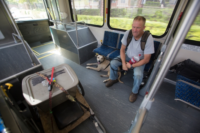 Thomas and his ADA Service Dog