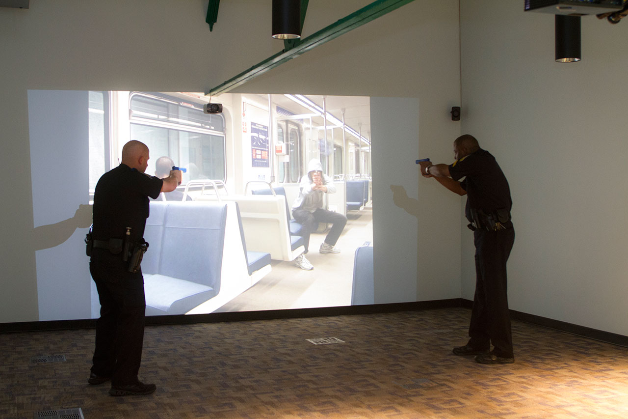 DART Police use-of-force simulator places officers in ...