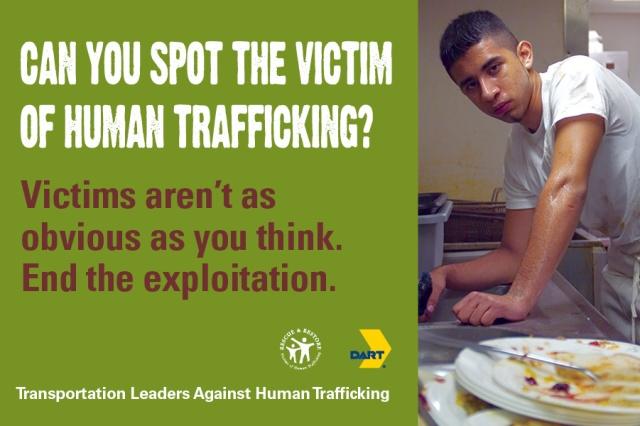 Human Trafficking Card Image