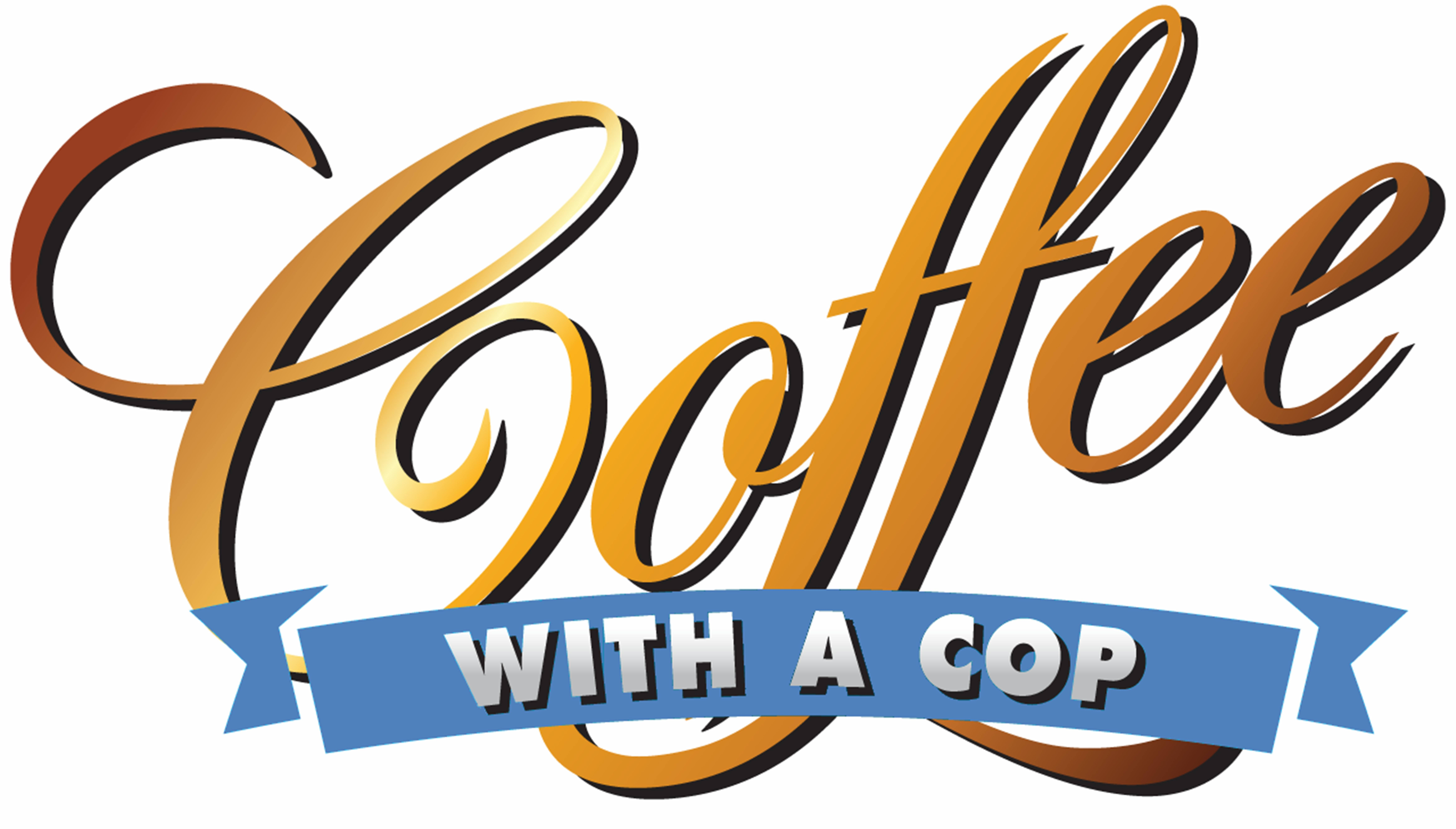 Coffee With Cop Logo First Friday Events Oct