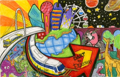Best of Show: Kassandra Castañeda - 4th Grade Frank Guzick Elementary – Dallas ISD