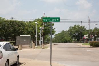 Brent street sign
