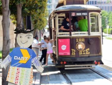 Flat David at Trolley