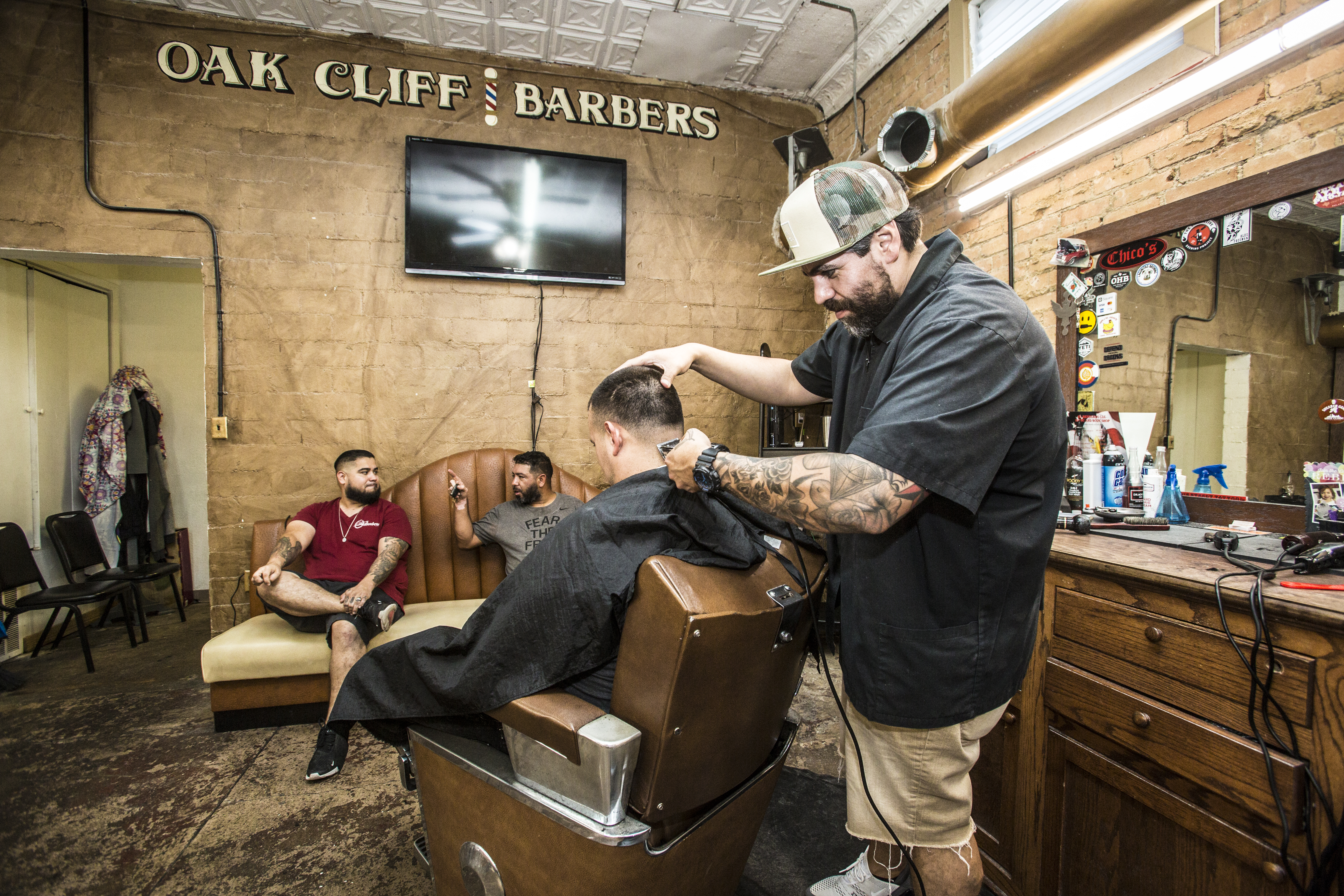 More Than a Trim: Oak Cliff Barbers Stays True to Roots