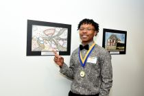 High school winner Henry John Lee Dinkens