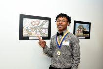 High school winner Henry John Lee Dinkens