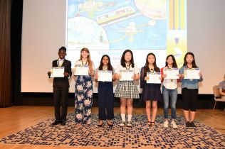 Middle school category winners pic2