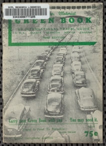 "Schomburg Center for Research in Black Culture, Manuscripts, Archives and Rare Books Division, The New York Public Library. ""The Negro Motorist Green Book: 1949"" New York Public Library Digital Collections. Accessed June 19, 2019. http://digitalcollections.nypl.org/items/9dc3ff40-8df4-0132-fd57-58d385a7b928"